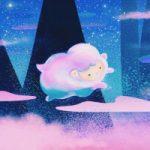 Fairytale – Sheep – Acrylic Painting by Sussex Artist Jennifer Okafor