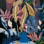 Jungle – Flowers and Leaves – Art by Sussex Artist Jennifer Okafor