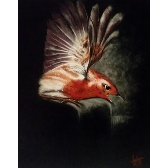 Bird Painting - Wildlife Art Gallery - Billingshurst West Sussex Artist Keith Coomber