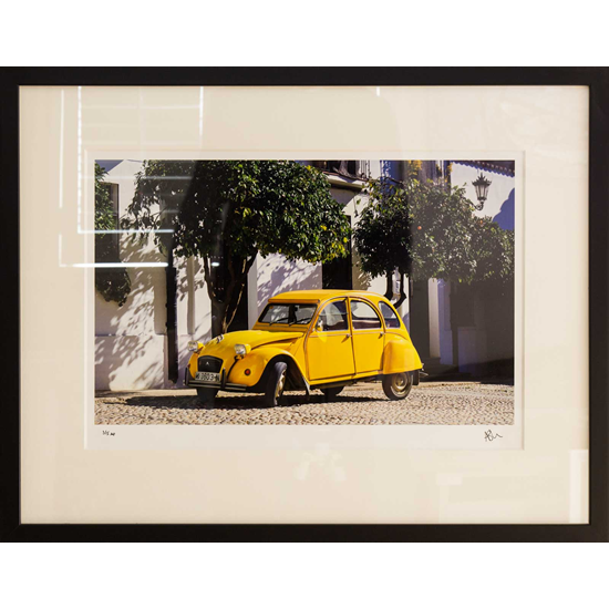 Citroen 2CV Car Fine Art Photography Prints - Ashley Cordwell - Petworth Art Gallery West Sussex