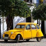 Citroen-2CV-Car Fine Art Photography Prints – French Vintage Vehicle Photograph – Rendezvous France