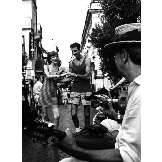 Happy Feet Dancing In The Street Petworth Gallery West Sussex - Ashley Cordwell Fine Art Photography Limited Edition Prints Of Italian Town