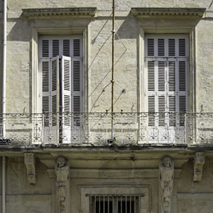 Les Volets – Prints Of French Building With Shutters – Petworth Gallery West Sussex – Ashley Cordwell Fine Art Photography