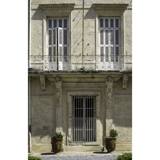 Les Volets - Prints Of French Building With Shutters - Petworth Gallery West Sussex - Ashley Cordwell Fine Art Photography