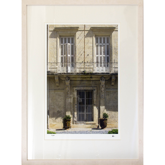 Petworth Gallery West Sussex - Ashley Cordwell Fine Art Photography Limited Edition Prints Of French Building With Shutters