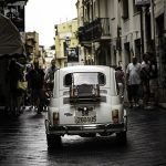 Vintage Italian Car – Fiat 500 Fine Art Photography Prints – Petworth Gallery West Sussex