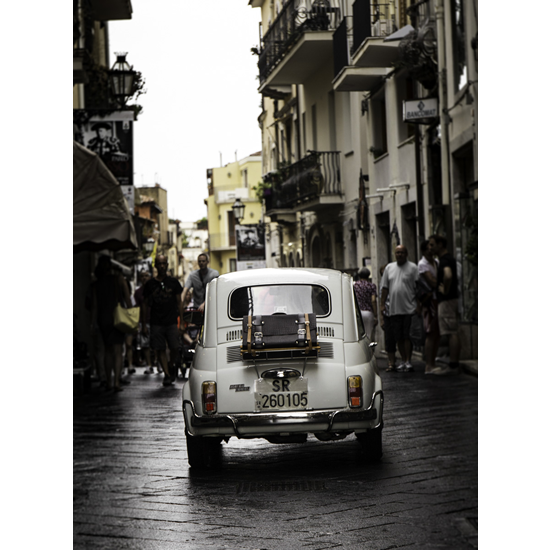 Vintage Italian Car - Fiat 500 Fine Art Photography Prints - Petworth Gallery West Sussex