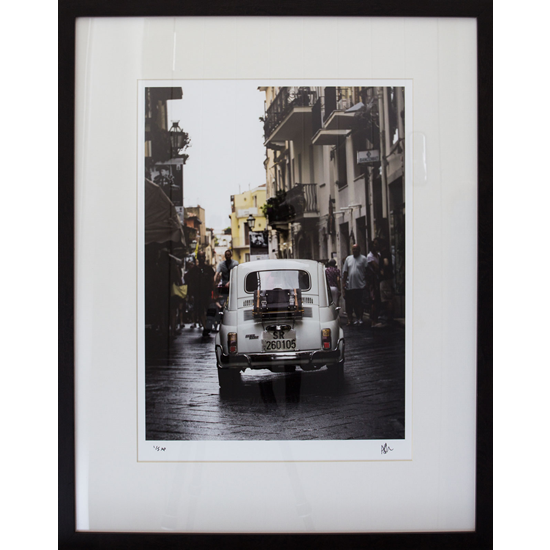 Vintage Italian Car - Fiat 500 Prints - Petworth Gallery West Sussex - Ashley Cordwell Fine Art Photography
