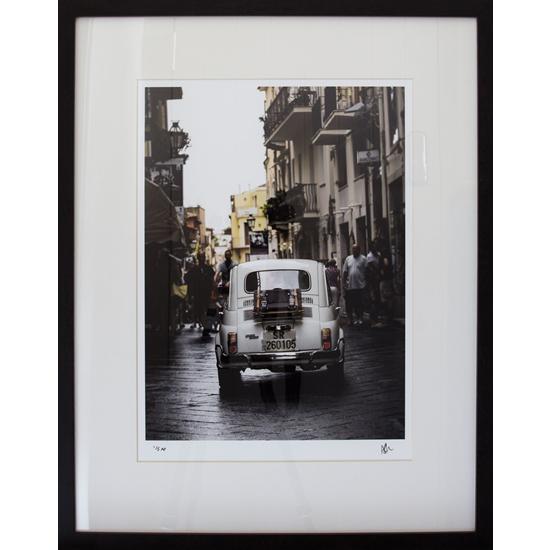 Vintage Italian Car - Fiat 500 Prints - Petworth Gallery West Sussex - Ashley Cordwell Fine Art Photography