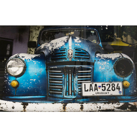 Car Fine Art Photography Prints - Vintage Vehicle Photograph - Uruguay South America Workhorse