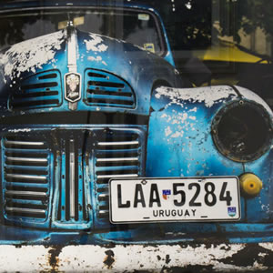 Car Fine Art Photography Prints – Vintage Vehicle Photograph – Uruguay South America Workhorse