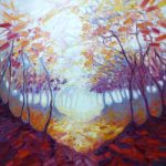 November in the Dryads Wood – East Sussex Artist Gill Bustamante
