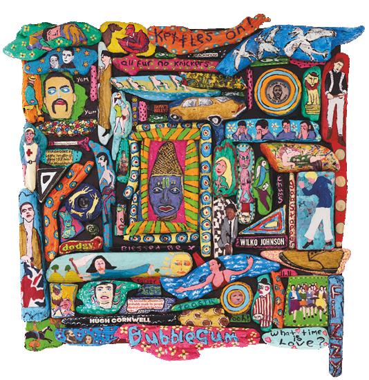 All Fur, No Knickers - Sussex Driftwood Art Gallery - Artist Teddy Salad