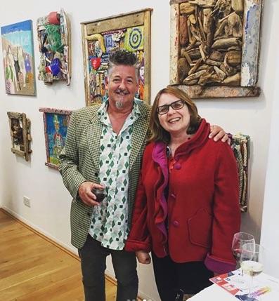 Sussex Artist Teddy Salad & Barbican Artist Tamara Tolley at The Brick Lane Gallery in London
