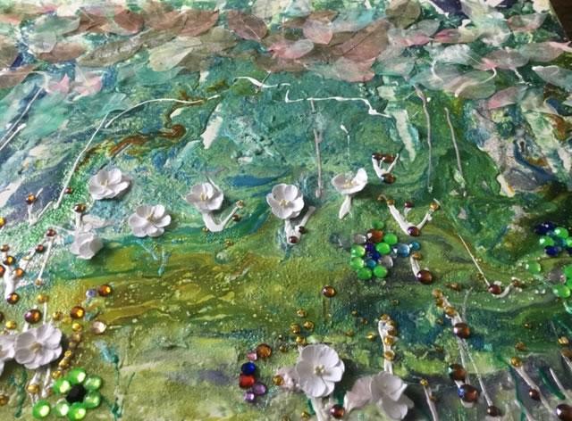 Flowers Art Gallery - St Leonards on Sea Sussex Artist Sheila Martin