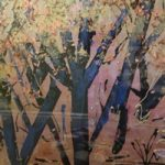 Trees Art Gallery – Painting by St Leonards on Sea Sussex Artist Sheila Martin