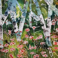 Trees Woodlands Forests – Art by St Leonards on Sea Sussex Artist Sheila Martin