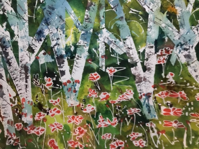 Trees Woodlands Forests - Art by St Leonards on Sea Sussex Artist Sheila Martin