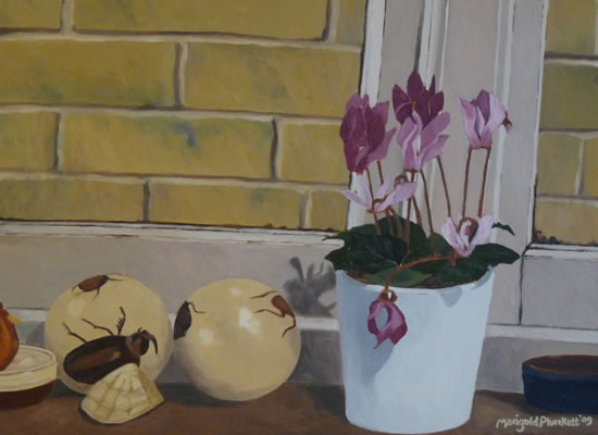 A Feeling for Home - Marigold Plunkett - Sussex Artist - Portraits in Oil, Drawings and Printmaking - Sussex Art Gallery