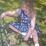 Girl, Lost in Thought – Sussex Artist Marigold Plunkett