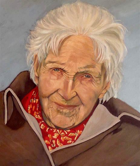 Portrait - Dympna - Marigold Plunkett - Sussex Artist - Portraits in Oil