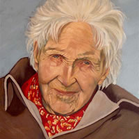 Portrait – Dympna – Marigold Plunkett – Sussex Artist – Portraits in Oil