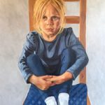 Portrait – Elliott Seated – Marigold Plunkett – Sussex Artist – Portraits in Oil