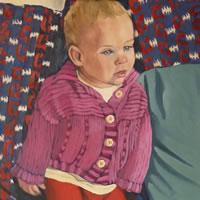 Portrait Of Child – Marigold Plunkett – Sussex Artist – Sussex Art Gallery