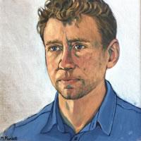 Portrait of James – Marigold Plunkett – Sussex Artist – Portraits in Oil