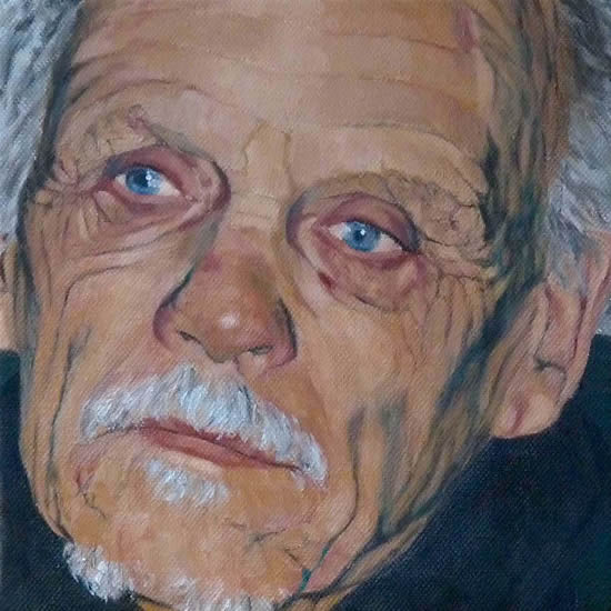 Sussex Portrait Art Gallery - Billy - Oil Painting Commission