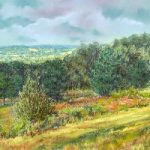 Ashdown Forest near Mardens Hill, Crowborough – Juliet Murray – Sussex Artist Gallery – Pastel Landscape Artist