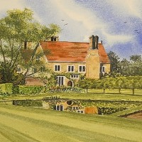 Batemans, East Sussex – Watercolour – East Sussex Artist Dave Styles – Sussex Artists Gallery