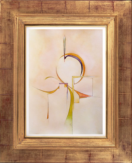 Contemporary, Abstract Art - Peace (2015) - West Sussex Artist - Agustin A. Castro - Watercolours, Mixed Media and Oils - Gallery