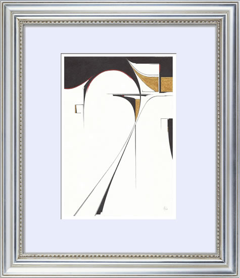Contemporary, Abstract Art - Stretching (2015) - West Sussex Artist - Agustin A. Castro - Watercolours, Mixed Media and Oils - Gallery