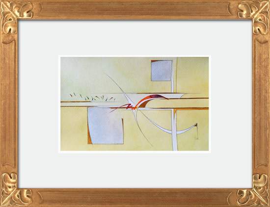 Contemporary, Abstract Art - Surprise (2015) - West Sussex Artist - Agustin A. Castro - Watercolours, Mixed Media and Oils - Gallery