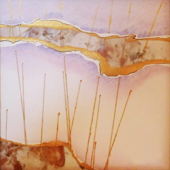 Contemporary, Abstract Art - Tension 2 (2011) - West Sussex Artist - Agustin A. Castro - Watercolours, Mixed Media and Oils - Gallery