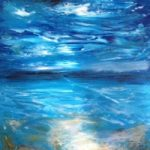Contemporary Art – Awakening – East Sussex Artist Lin Chatfield – Contemporary Landscape and Seascape Painter- Sussex Artists Gallery