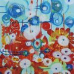 Contemporary Art – Wishing – West Sussex Artist – Emma Cooper – Acrylic and Mixed Media on Canvas – Sussex Artists Gallery