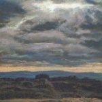 Dark Skies – Sussex Artist Juliet Murray – Sussex Artist Gallery – Pastel Landscape Artist