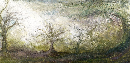 Enchanted Forest - Fine Art Prints - West Sussex Artist - Bleau Shanay Hudson - Woodland Art - Sussex Artists Gallery