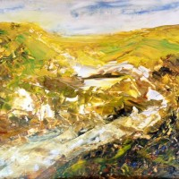 I Can Hear the Birds Sing – Contemporary Landscape – East Sussex Artist Lin Chatfield – Sussex Artists Gallery