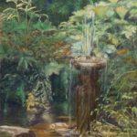 Old Quarry Garden Standen, East Sussex – Pastel Landscape Artist – Juliet Murray – Sussex Artists Gallery