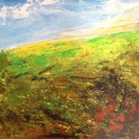 Over The Hills – Contemporary Landscape – East Sussex Artist Lin Chatfield – Sussex Artists Gallery