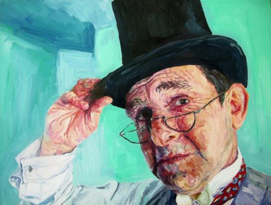 Portrait - Roger - Felicity MeachEm - West Sussex Fine Artist - Portraits in Oil