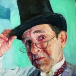Portrait – Roger – Felicity MeachEm – West Sussex Fine Artist – Portraits in Oil