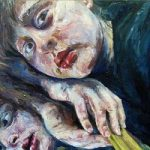 Portrait – Self Portrait – Felicity MeachEm – West Sussex Fine Artist – Portraits in Oil