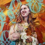Portrait – Veronica – Felicity MeachEm – West Sussex Fine Artist – Portraits in Oil