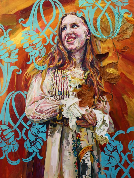 Portrait - Veronica - Felicity MeachEm - West Sussex Fine Artist - Portraits in Oil