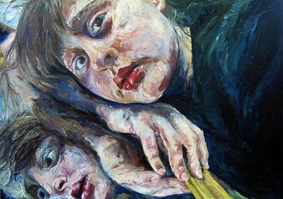 Self Portrait - Felicity MeachEm - West Sussex Fine Artist - Portraits in Oil