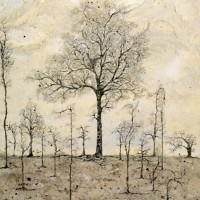 The Chestnut Tree – Fine Art Prints – West Sussex Artist – Bleau Shanay Hudson – Woodland Art – Sussex Artists Gallery